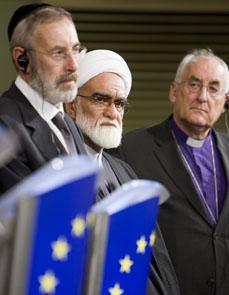 Quand l'Union Européenne reçoit ses religions