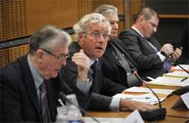 Jérôme Bignon, député de la Somme, a présidé les débats du groupe de travail