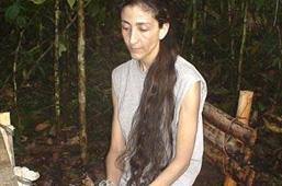 Ingrid Betancourt, otage des FARC depuis 2002