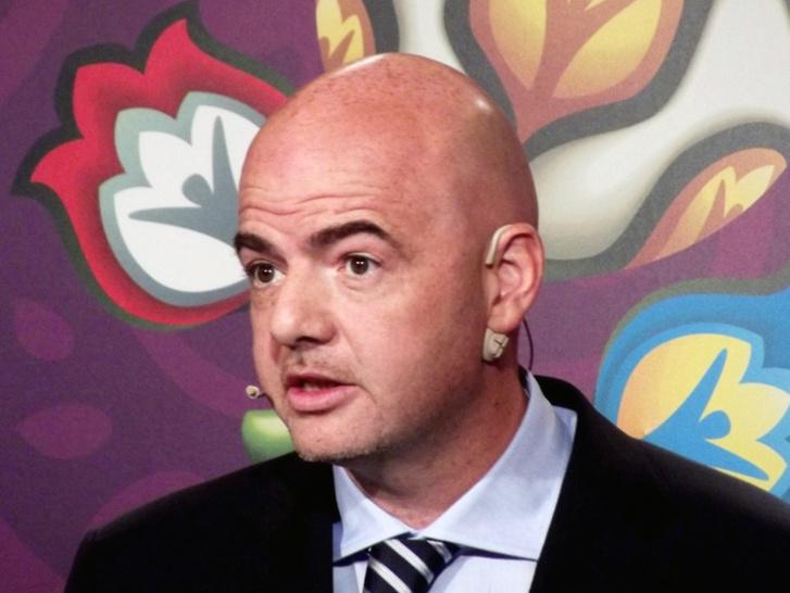 Football : le président de la FIFA en Palestine après le Ramadan
