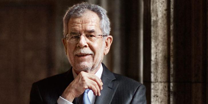 Alexander Van der Bellen est le nouveau président de l'Autriche.