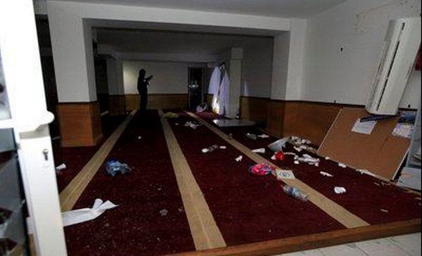 Saccage d'une mosquée à Ajaccio : cinq interpellations