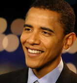 'Ce soir, je peux dire que je serai le candidat démocrate', a déclaré Barack Obama