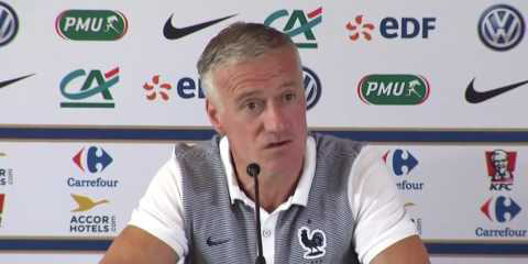 Didier Deschamps le sélectionneur des Bleus.