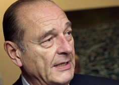 L'ancien président Jacques Chirac lancera sa fondation lundi au musée du Quai Branly