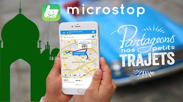 Microstop, l'appli du covoiturage maison-mosquée