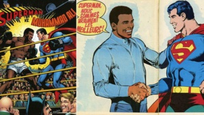 La bande dessinée Superman vs Muhammad Ali.