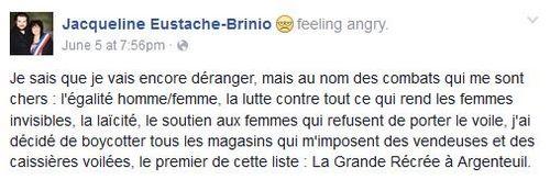 La maire de Saint-Gratien boycotte les magasins recrutant des femmes voilées