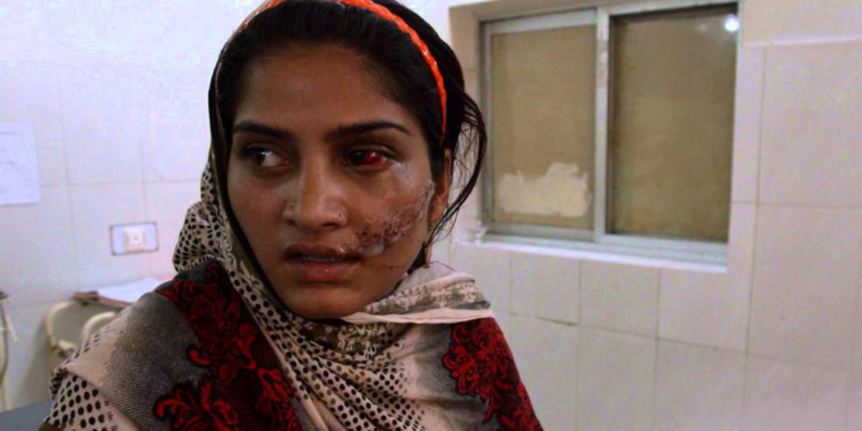 Image extraite du film «Une fille dans la rivière: le prix du pardon» de Sharmeen Obaid Chinoy, sur les crimes d'honneur.