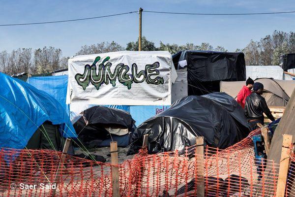 La « jungle » à Calais.  Calais, novembre 2015. © Saer Saïd