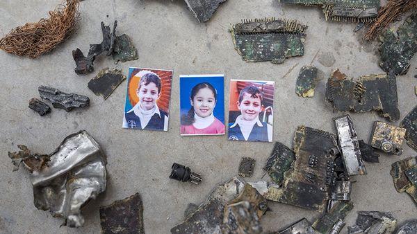 Une famille palestinienne a porté plainte contre une entreprise française après la mort de trois enfants des suites d'un bombardement de la maison par l'armée israélienne en été 2014. © Anne Paq/Activestills.org