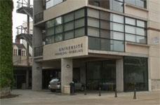 L'université François-Rabelais à Tours