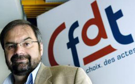 """Pour François Chérèque, Sarkozy """" a une vision archaïque"""" du syndicalisme"""