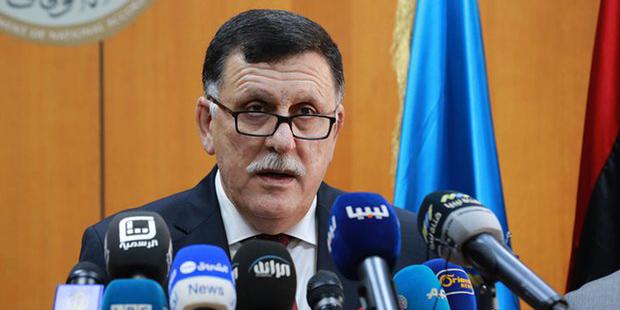 Fayez al-Sarraj, le Premier ministre du gouvernement d'union nationale de Libye.