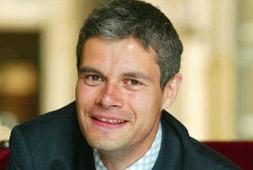 Le secrétaire d'état à l'Emploi, Laurent Wauquiez, a accusé la gauche d'