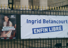Ingrid Bétancourt libre, Ya Basta