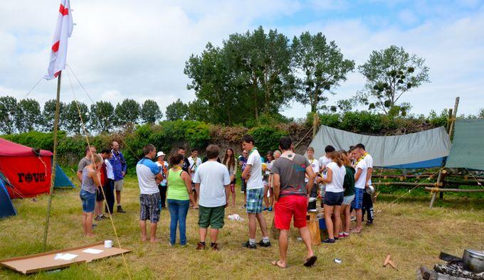 La France accueille pour la première fois, du 3 au 14 août, le Roverway, un grand rassemblement européen de jeunes scouts.