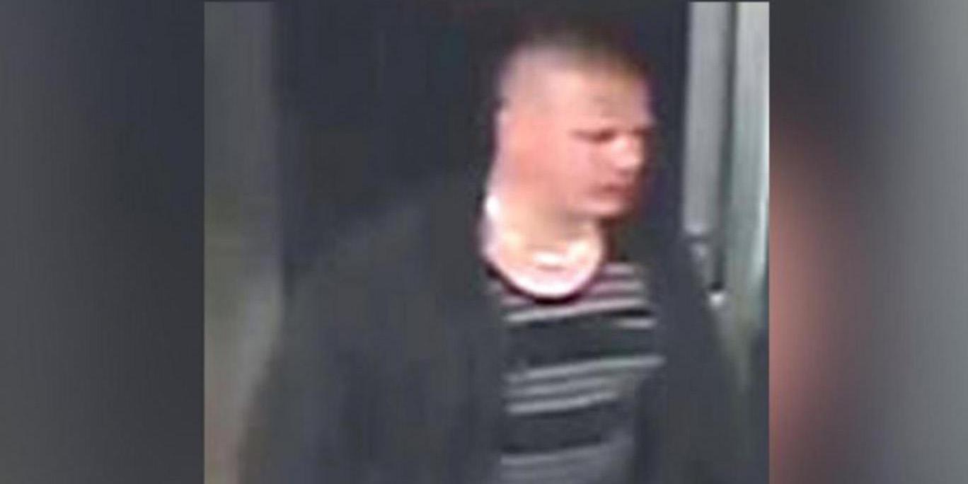 Une des images de videosurveillance montrant l'auteur de l'agression islamophobe.