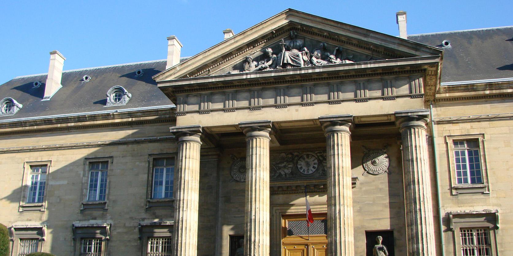Le Palais de Justice de Reims.