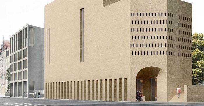 Situé en plein centre de Berlin, House of One, un projet architectural innovant, fait se rencontrer juifs, musulmans et chrétiens mais aussi les habitants du quartier quelles que soient leurs convictions.