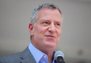 Le maire de New York Bill de Blasio.