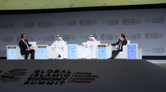 Le troisième Sommet mondial de l'économie islamique a été organisé les 11 et 12 octobre à Dubaï. © GIES