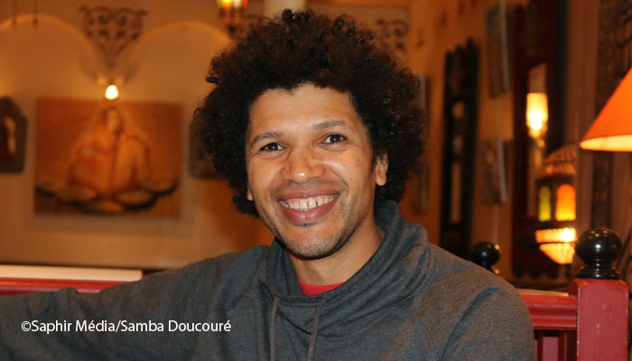 Rachid Djaïdani est le réalisateur du film « Tour de France ». ©Saphir Média/Samba Doucouré.