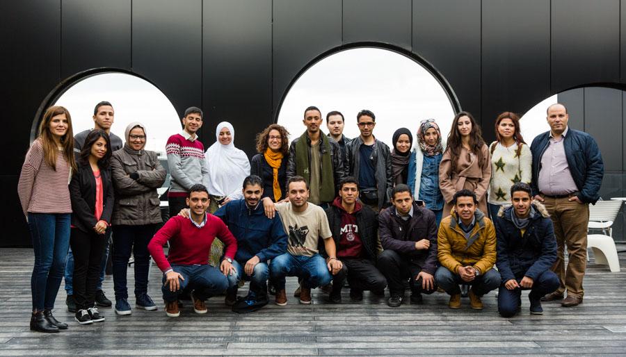Les participants au dispositif SafirLab 2016 ©Vinciane Verguethen.