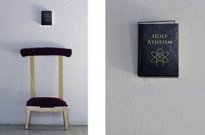 Installation « Holy Atheism » de Sonia Merazga