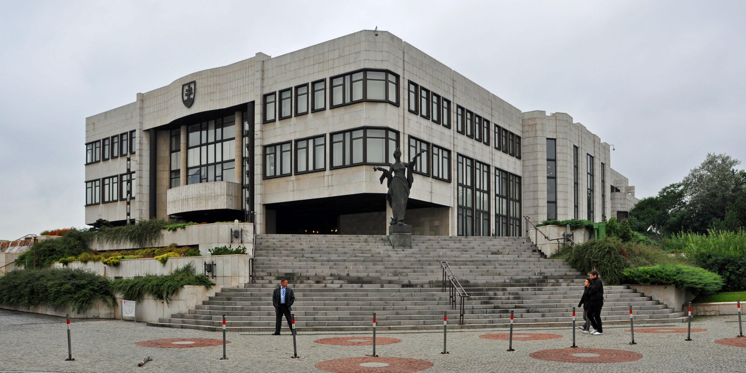 Le Parlement slovaque.