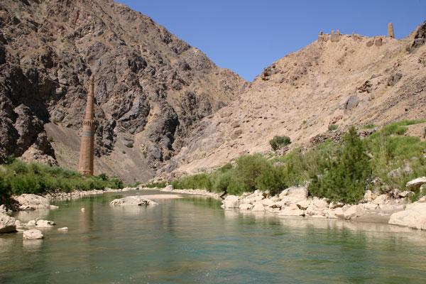 Minaret de Djam (Afghanistan).