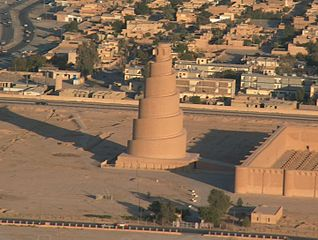 Minaret de Samarra (Irak), © Jim Gordon.