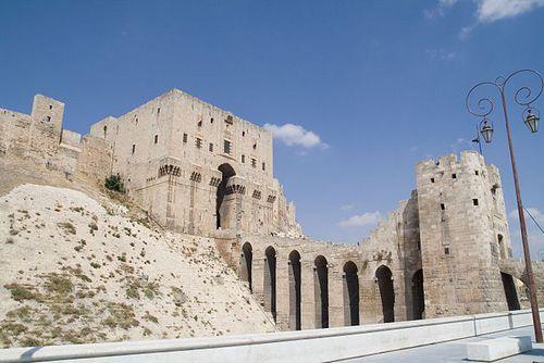 La Citadelle d'Alep.