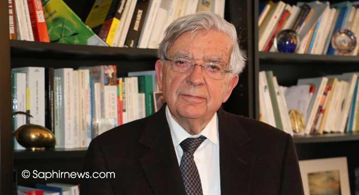 Jean-Pierre Chevènement a officiellement pris la présidence de la Fondation pour l'islam de France à l'issue du conseil d'administration inaugural jeudi 8 décembre.