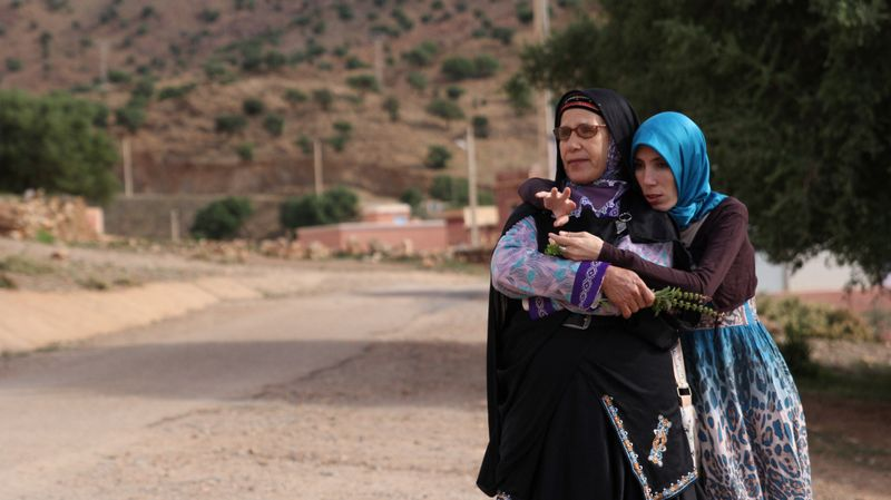 Khadija Elharim et sa fille Rachida – Tafraout © Women SenseTour in Muslim Countries