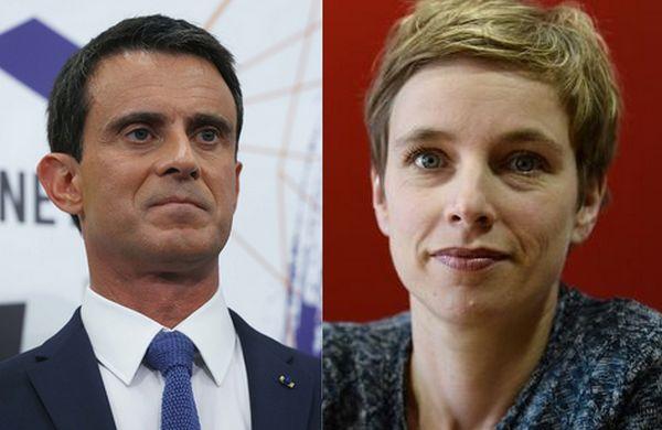 Frères musulmans : entre Manuel Valls et Clémentine Autain, le torchon brûle