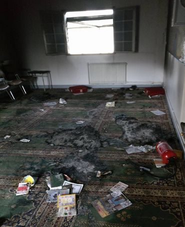 Château-Thierry : la mosquée ravagée par un incendie criminel