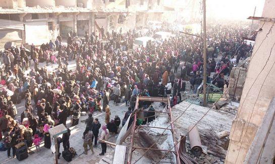 Syrie : la délicate action des humanitaires à Alep
