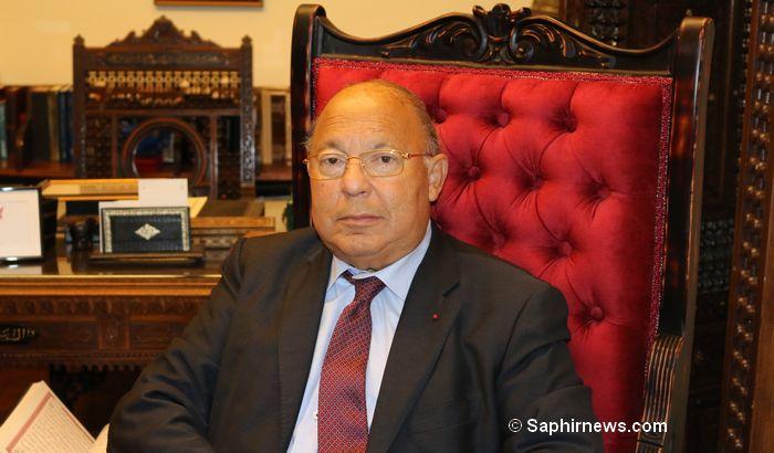 Dalil Boubakeur, président de la Fédération nationale de la Grande mosquée de Paris.