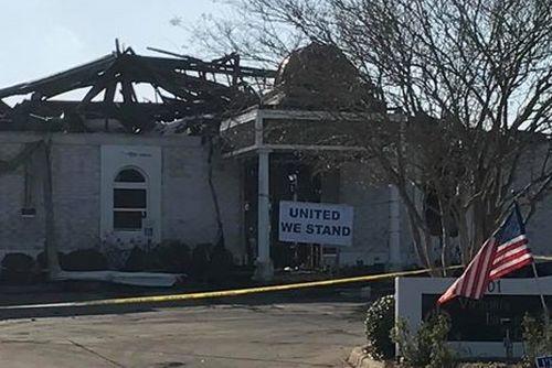 Le Centre islamique Victoria a été détruit par un incendie fin janvier. © Victoria Center