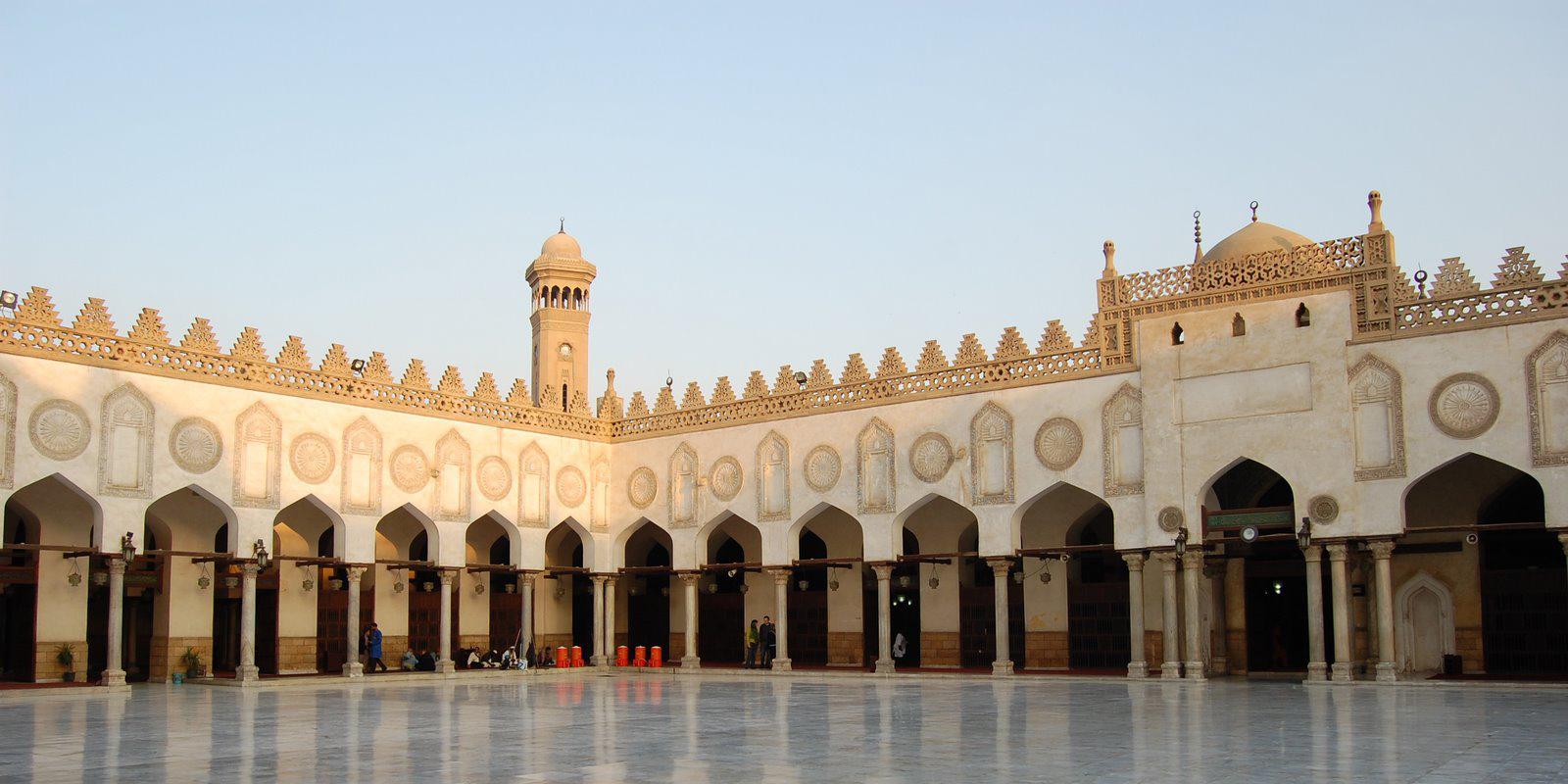 L'université Al-Azhar au Caire (Egypte).