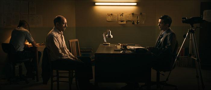 Najib Oudghiri (à droite) et Hassam Ghancy (à gauche) sont les deux protagonistes du film « Ennemis intérieurs », de Selim Azzazi, en lice pour les Oscars 2017, dans la catégorie du meilleur court métrage.