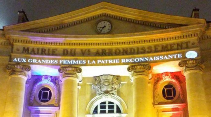 8 mars : la place du Panthéon baptisée « Place des grandes femmes »