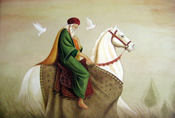 Peinture de S. a. Noory.