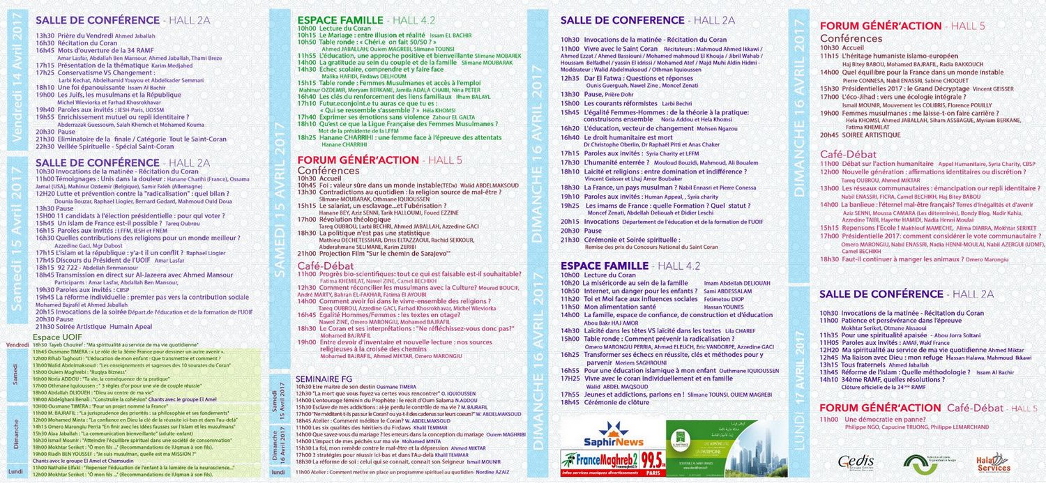 Programme rencontre uoif bourget 2018