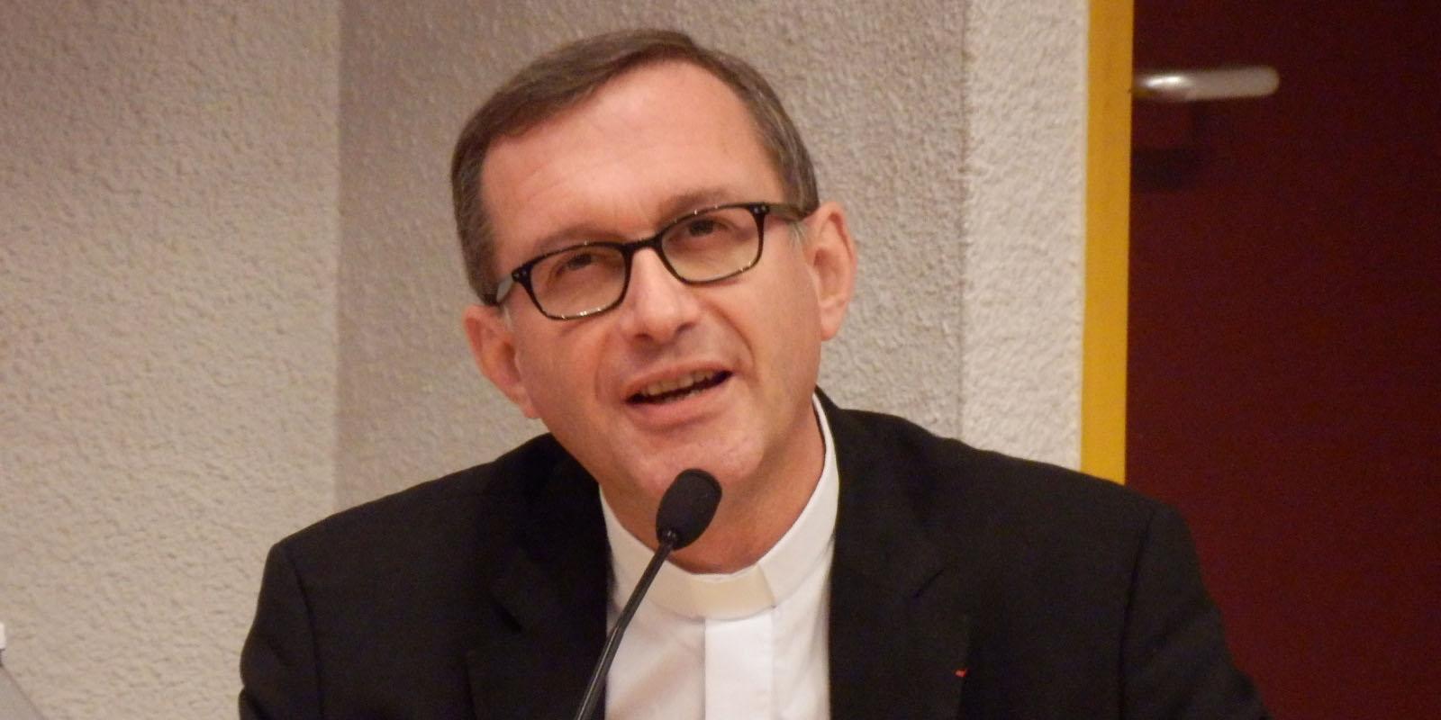 Monseigneur Olivier Ribadeau Dumas, porte-parole de la Conférence des évêques de France.