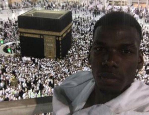 Depuis La Mecque, Paul Pogba souhaite un bon Ramadan