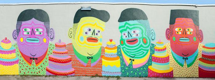 Œuvre de la streetartiste Kashink (photo © D. R.)