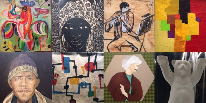 Art contemporain arabe : 100 œuvres de la collection Barjeel exposées à l'IMA