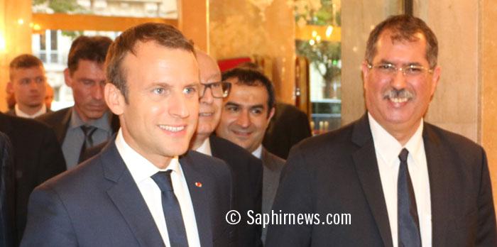 Le président Emmanuel Macron a honoré l'invitation au dîner de rupture du jeûne du CFCM, présidé jusqu'au 1er juillet par Anouar Kbibech.